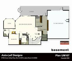 floor plans for basements basement apartment floor plans home design plan