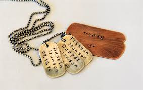 personalized dog tag necklace dog tag necklace gift for gift australia rustic