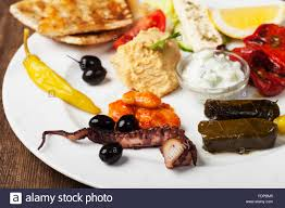 classical cuisine classical appetizer mediterranean cuisine stock photo royalty