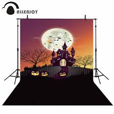 halloween party background online get cheap halloween castle background aliexpress com