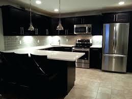 Black Subway Tile Kitchen Backsplash Black Glass Tiles For Kitchen Backsplashes Best Gray Subway Tile