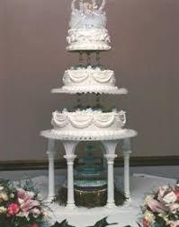 walmart 3 tier wedding cakes stand from walmart brown