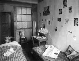 anne u0026 margot frank u0027s room in the u0027secret annex u0027 holland