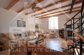 sea view living room stone house with a sea view for sale brac sutivan brac property
