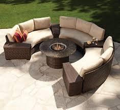 Top  Best Fire Pit Patio Set Ideas On Pinterest Patio Sets - Round outdoor sofa 2