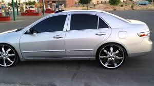 2006 honda accord 17 inch rims honda accord slammed on 22 inch rims