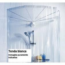 tende vasca bagno spirella ombrella 10 04441 set sospensione ad ombrello 8 braccia
