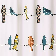 Bird Shower Curtains Rowley Birds Shower Curtain Lush Decor Www Lushdecor Com