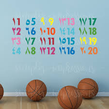 colorful children arabic english numbers wall art decal decoration colorful children arabic english numbers wall art decal decoration muslim islamic stickers for classroom playroom nursery
