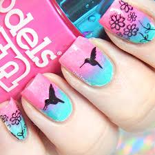 fairytales nails 26 great nail art idea u0027s animal silhouette