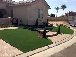 Patio Grass Carpet Fake Grass Carpet Indian Wells California City Landscape Front