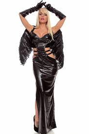 Black Raven Halloween Costume 4pc Black Raven Leatherette Costume Costume Costumes