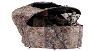 tent chair blind ameristep introduces the new magnum tent chair blind model no