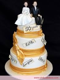 golden wedding cakes 50th anniversary wedding cake wedding cakes