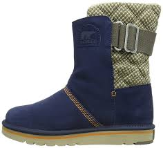 womens boots navy blue sorel the cus womens boots blue collegiate navy 464 s