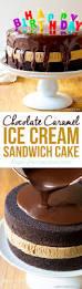 Halloween Ice Cream Cake by Chocolate Caramel Ice Cream Sandwich Cake A Spicy Perspective