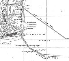 Map Of Wales Prince Of Wales Pier Part Ii U2013 1914 To The Present Day The Dover