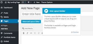 enfold layout builder video awesome landing pages kriesi at premium wordpress themes