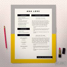 Best Resume Templates In 2015 by Resume Template Cv Template Design Cover Letter Modern Pop