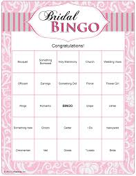 wedding words for bingo bridal bingo can do with wedding words and just play as or