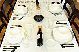 how to set an informal table the complete savorist
