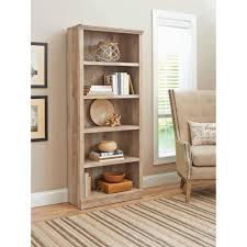 distressed white wood bookcase solid haammss