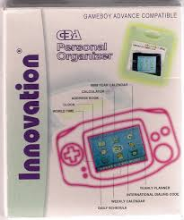 personal data assistant for gameboy advance u independent rom