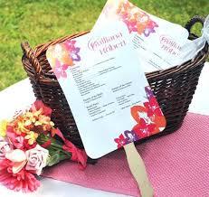personalized wedding programs fan favors wedding personalized designer fan wedding program kit