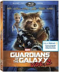 marvel studio guardians of the galaxy vol 2 dvd