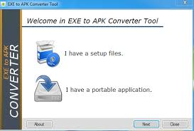 how to exe to apk file converter using software error express