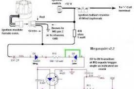 wiring diagram for electronic distributor wiring diagram