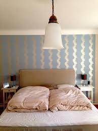 Schlafzimmer Wand Blau Pimp My Schlafzimmer Wanddekoration Mit Tapete Der Mamablog Mit