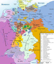 Map Of Germany And Switzerland by
