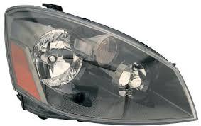 amazon com 2005 2006 nissan altima headlights w amber clear