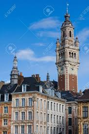 chambre du commerce lille tower of the chambre de commerce and historic houses in lille