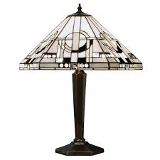 Tiffany Table Lamps Art Deco Tiffany Table Lamp From Interiors 1900 Silver Grey And Black