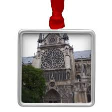 notre dame cathedral ornaments keepsake ornaments zazzle