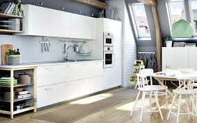 White Gloss Kitchen Ideas Modren Modern White Kitchens Ikea Kitchen Island With Veddinge