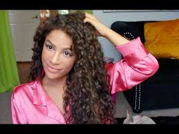women curly haircuts for latina how to style curly hair curly hair routine youtube
