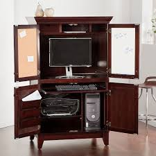 Computer Armoire Corner Computer Armoire Bookcase Plus Computer Armoire Pottery Barn Plus