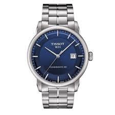 tissot bracelet links images Tissot luxury powermatic 80 blue dial bracelet watch at o r leeds jpg