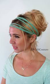 headband wrap goddess headband wrap coachella festival hippie crochet headband