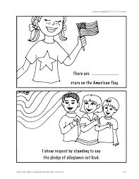 the pledge of allegiance kindergarten nana