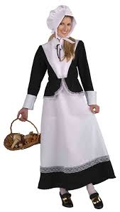 amazon women s halloween costumes amazon com women u0027s plymouth pilgrim costume clothing