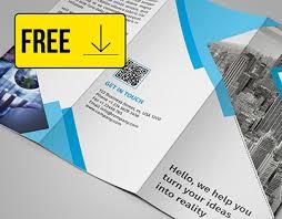 free three fold brochure template free tri fold brochure template on behance