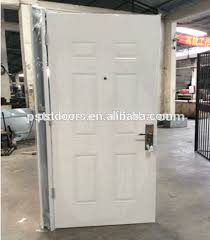 Decorative Definition High Definition Decorative Panel 6 Panel Door Metal Door With