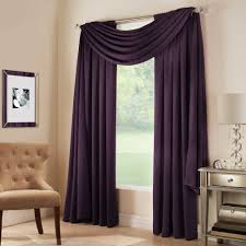 Purple Window Valances Decor Vertical Striped Scarf Valance With Ikea Side Table With