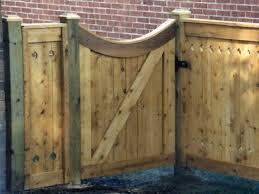 wood fence door design custom gate designs elyria fence a