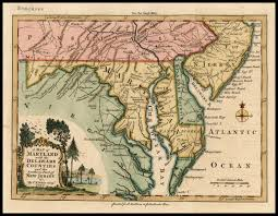 map of maryland delaware and new jersey a map of maryland with the delaware counties and the southern part