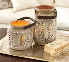 avery ceramic lanterns pottery barn australia all lit up by